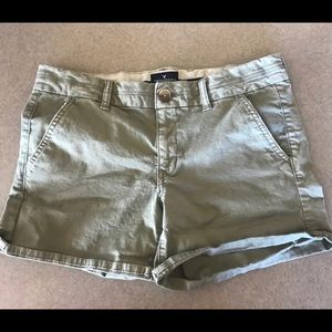 American Eagle Stretch Midi Shorts